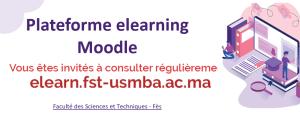 Plateforme Moodle - FST Fès