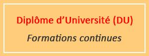 Displôme d'Université (DU)